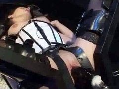 El-Lion - Giant Machine Penis & Horny Dark hair