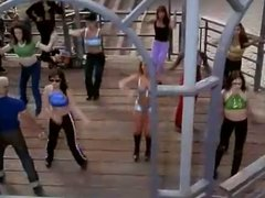 Carmen Electra dancing (Batwatch)