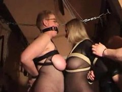 Saggy tits mature slaves 1 of 2