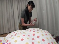 Miho Wakabayashi Plays With Her Pussy And Sucks Dick