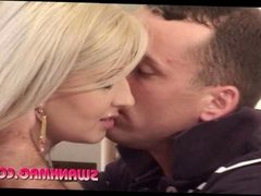 Blonde Girl Cindy Love Gets Cumshot