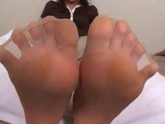 Hot Asian Nylonsoles