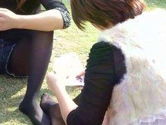 Asian Pantyhose Girls