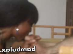 Ebony African Teen Blowjob Cum in Mouth!