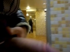 Jerking at the urinals