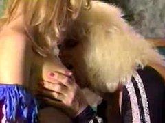 Vintage blonde lesbian sex