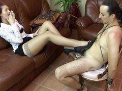 Chastity Slave Teasing 2