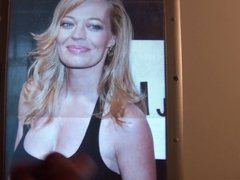 Cum on Jeri Ryan