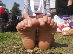 Soles at the park