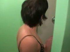 mom shaving her pussy