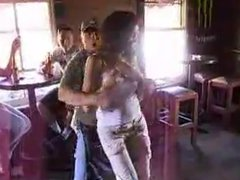 Babe Stripped in a Bar - ENF
