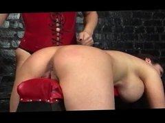 Lesbian slave who loves spanking