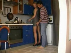 Hot Kitchen Fuck