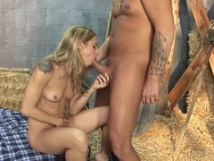 Lindsey Meadows loves sex on the hay