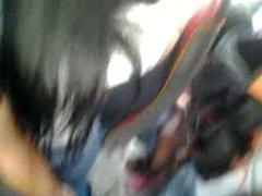 Encoxada-Great surprise!!!! two women I touch betwen