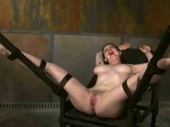 dark-haired slavegirl 1