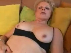 Mom with flabby saggy tits & guy