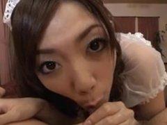 Pretty Japanese Maid