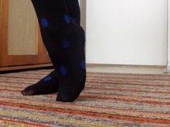 Nylon feet boots