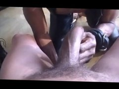 Black Dude in Leather Gets Fucked