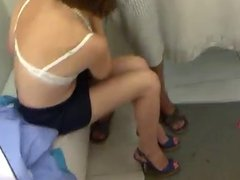 Blowjobs in fitting room