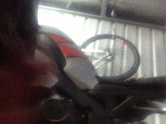 Garage fun cumshot