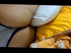 Sexy milf's panty ass