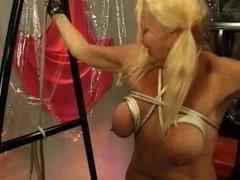 Tit Torture For Granny Anastasia