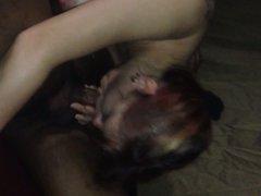 Redhead milf interracial deepthroat