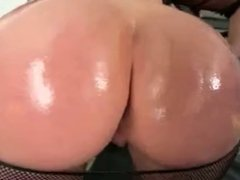 MILF in OTK boots oiled and hammered with Lex BBC