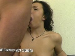 Teen Girl And Big Cock Make ThroatLove