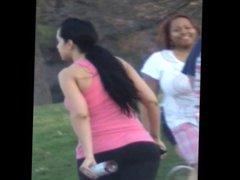 Bubble Ass Latina Booty Butt Jiggle