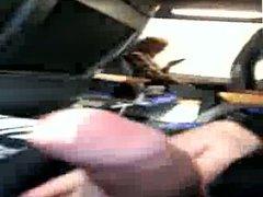 German dick flash in train