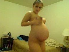 Pregnant Tori Taylor  Dancing All Nude