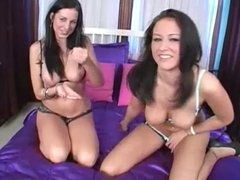 Ashley and Grace give advice  how to jerk