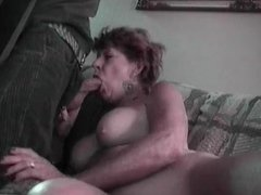 Granny Lydia Spitz Masturbates And Sucks For Cum