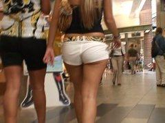 Teen Ass In The Mall