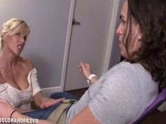 Hot Milf Handjob Domination