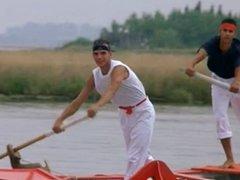 Teasing on Boat