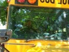 School Bus Girls Drew