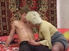 Russian MILF and guy - 12