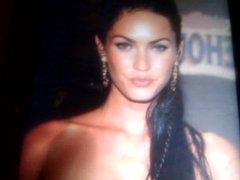 Gorgeous Megan Fox cumshot