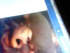 My cumslut Bri getting her face covered again