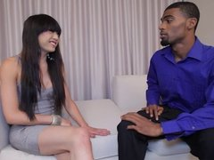 Sexy ladyboy Venus Lux and Rico Steele have tranny shemale