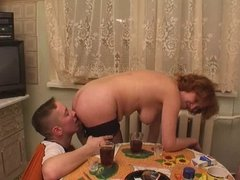 RUSSIAN MATURE FUN WITH 2 YOUTHS