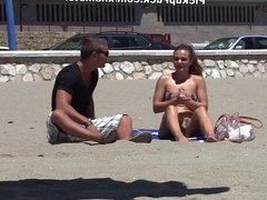 pick-up in Spanish with beautiful, passionate chick