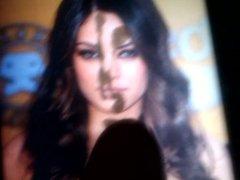 Mila Kunis cumshot cover face