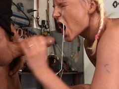 German milf facial