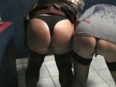 Couple meets a crossdresser in porncinema