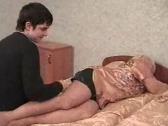 Russian MILF and guy - 14